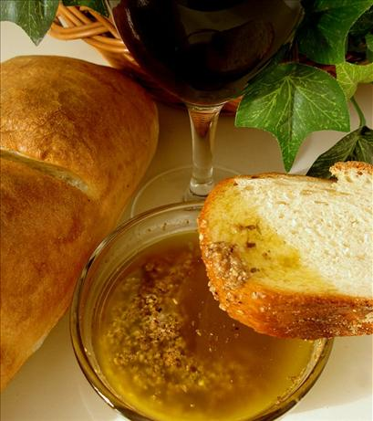Parmesan and Garlic Dipping Oil