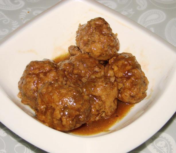 Ragout De Boulettes Canadian Meatballs