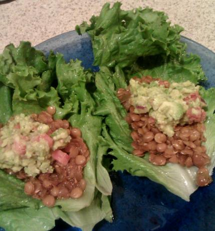 Vegetarian Lentil Taco 'meat Filling' Substitute (Crock Pot)