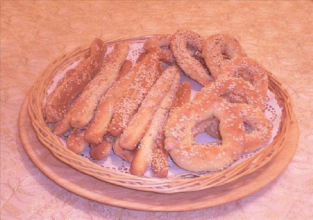 Arabic Pretzels (Baqsam)