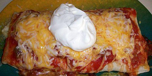 Busy Night Microwave Wet Burritos