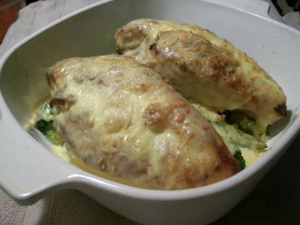 Chicken Breasts and Broccoli With Madeira Sauce