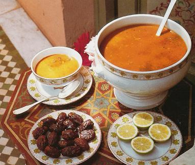 Harira (Soup for Ramadan)