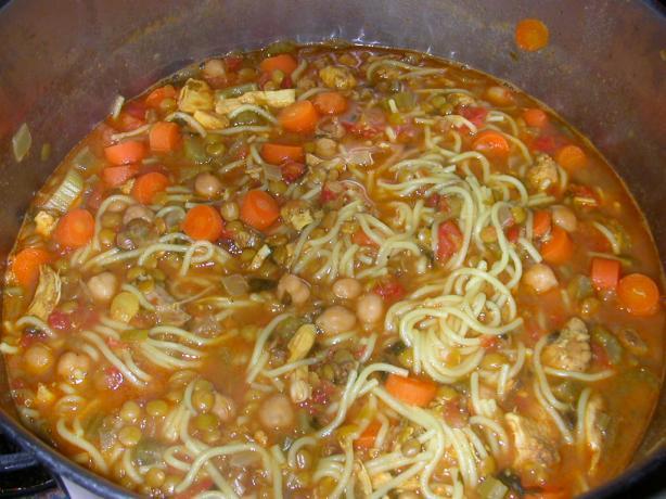 Harira (Moroccan Lentil Soup)
