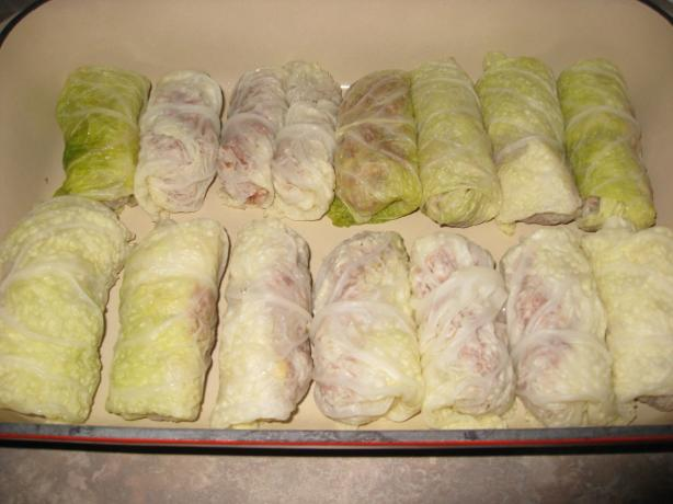 Uncle Bill's Russian Cabbage Rolls