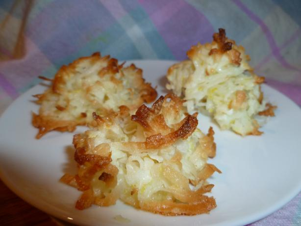 Lime in De Coconut Macaroons