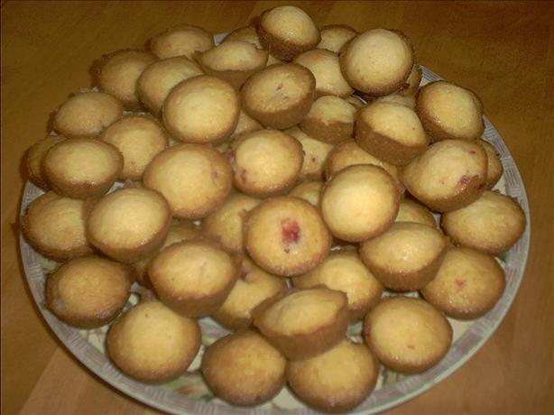 Mini Cherry Muffins