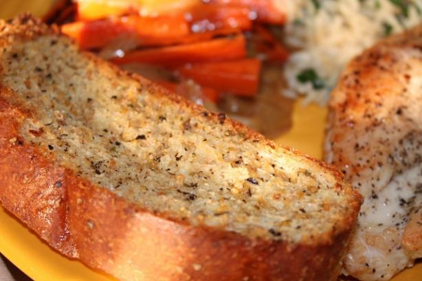 Garlic Butter for Freezer Garlic Bread (Oamc)