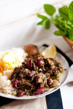 Persian Stew - Gormeh Sabzi