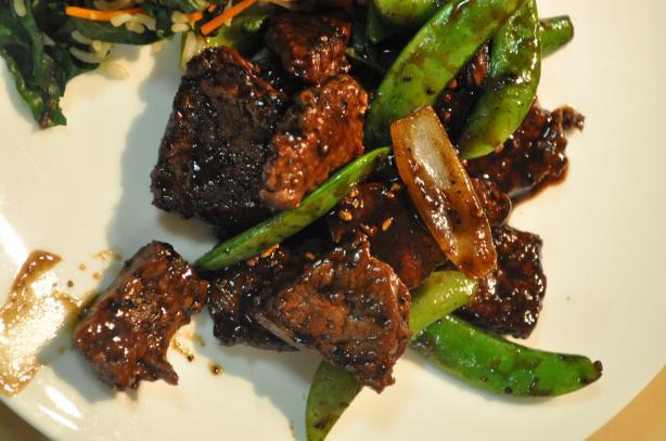 Honey and Black Pepper Steak