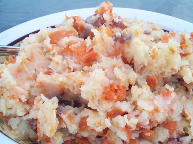 Mashed Potatoes With Carrots