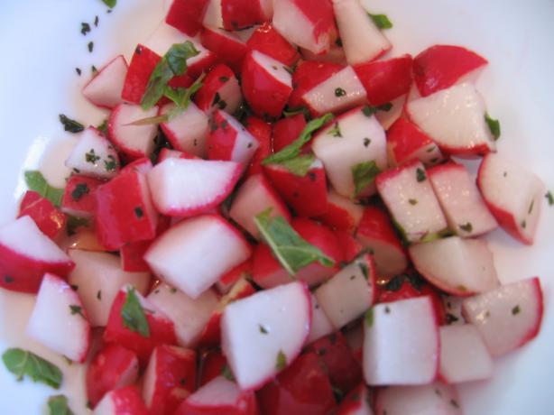 Radish Mint Salad