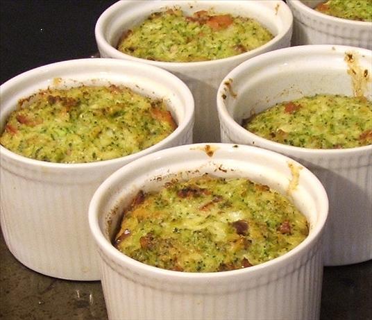 Quick Broccoli Bake, Soufflé-Like