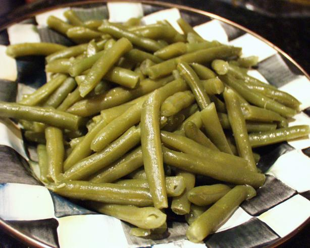 Green Beans the Old Fashioned Way