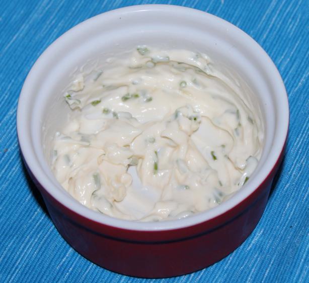 Garlic-Chive Mayonnaise