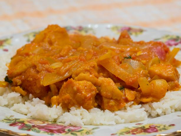Balti Fish Curry