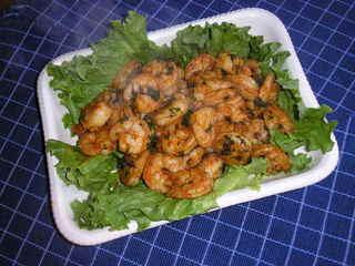 Garlic Shrimp from the Gilroy California Garlic Festivale
