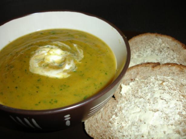 Carrot and Coriander (Cilantro) Soup