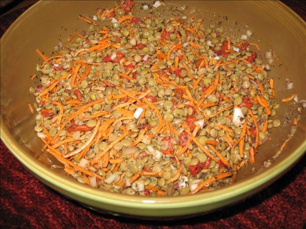 Lentil Salad Italiano