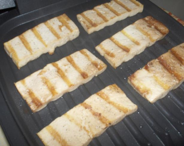 Easy-As-1-2-3 Versatile Grilled Tofu Chunks or Sandwich Slices