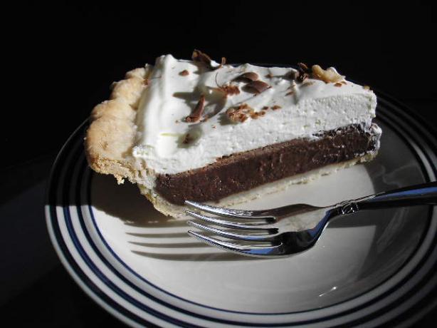 White Trash Chocolate Pie