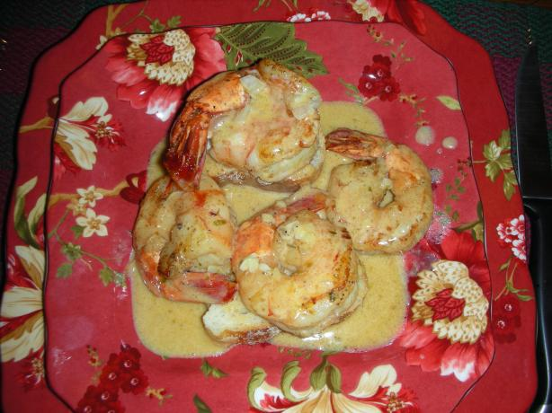 Whiskey Shrimp on Toast