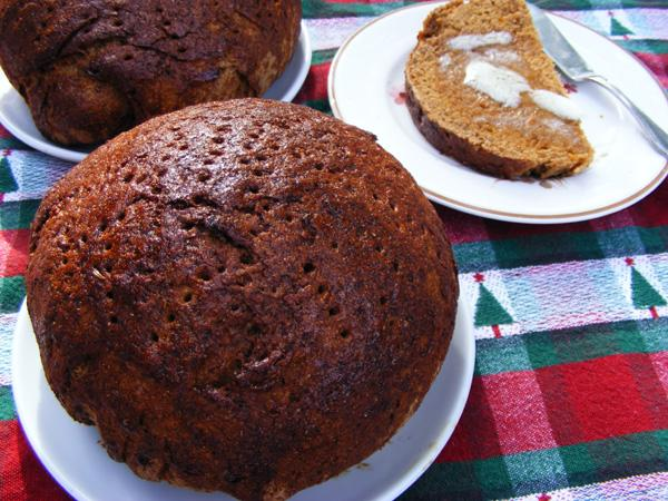Holiday Rye Bread (Joululimppa)