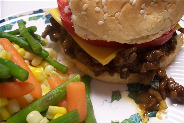 Lazy Mom's Easy BBQ Sloppy Joes