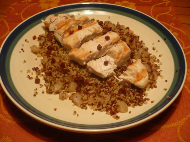 Quinoa Chicken Salad With Currants