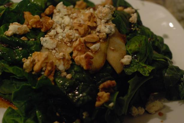Spinach-Pear Salad