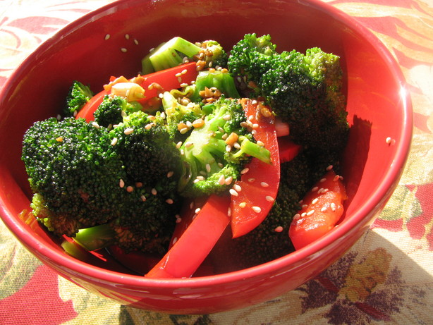 Broccoli-Garlic Stir-Fry