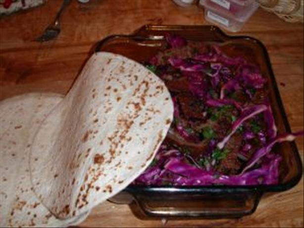 Thai Steak Wrap