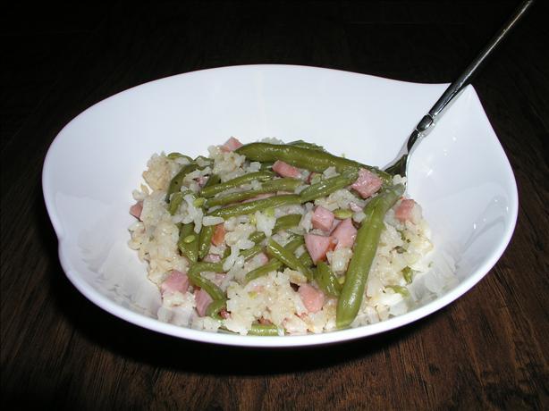 Ham and Rice Casserole