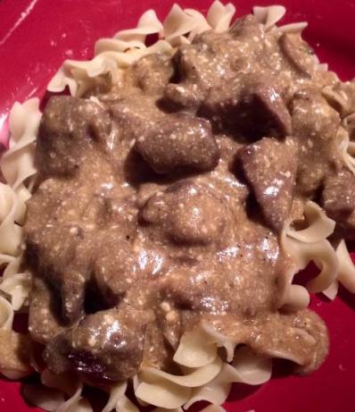 Greeny's Crock Pot Beef Stroganoff