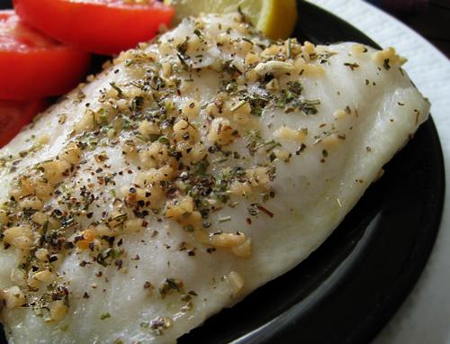 Herb-Steamed Chilean Sea Bass