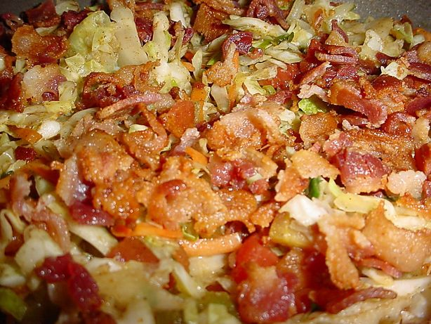 Paula Deen's Hot Bacon Cole Slaw