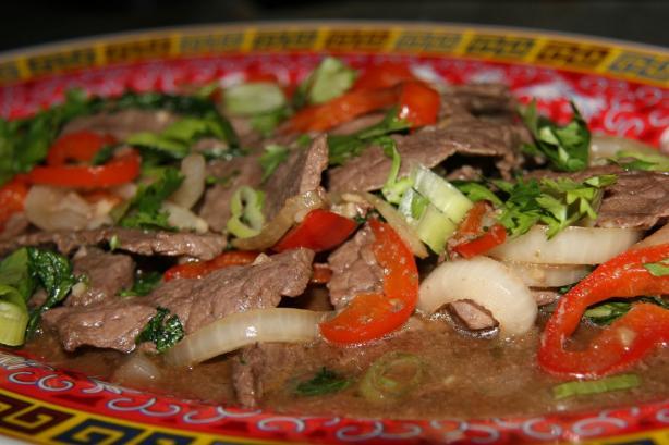 Thai Spicy Basil Beef