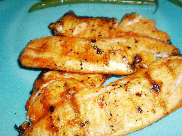 Barbecued Chilean Sea Bass With Orange