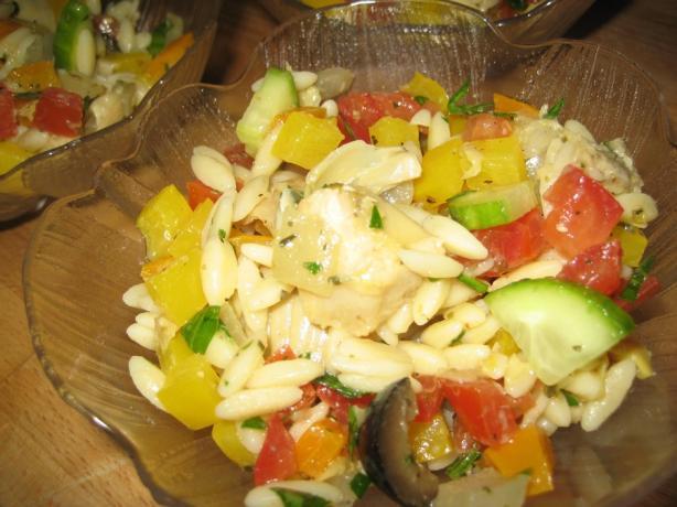 Mediterranean Lemon Pasta Salad