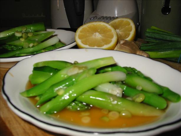 Asparagus Salad With Lemon-Soy Vinaigrette