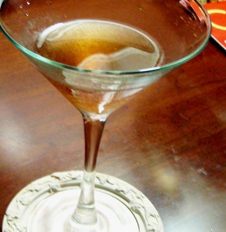 Shaken-But-Not-Stirred Chocolate Martini