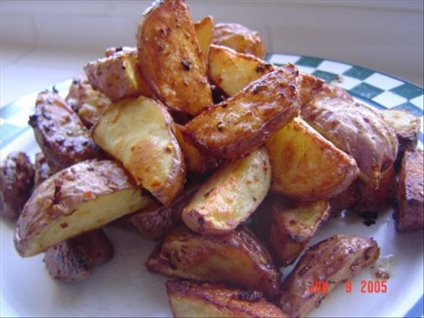 Peppery Bravas Potatoes (red or Yukon Wedges)