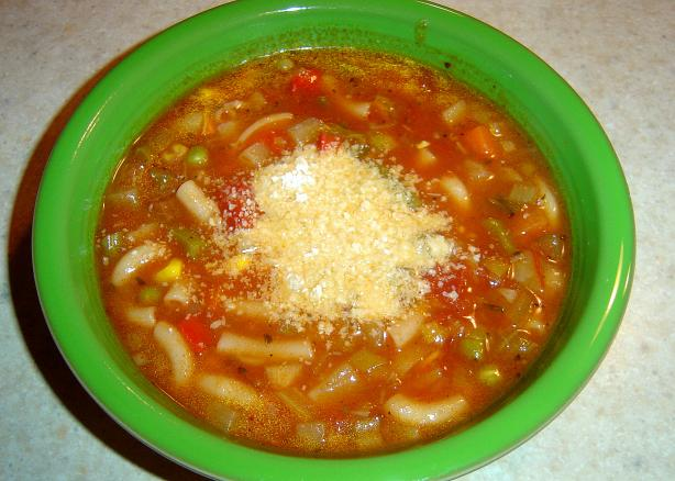 Easy Vegetable Soup / Crock Pot (Or Not!)