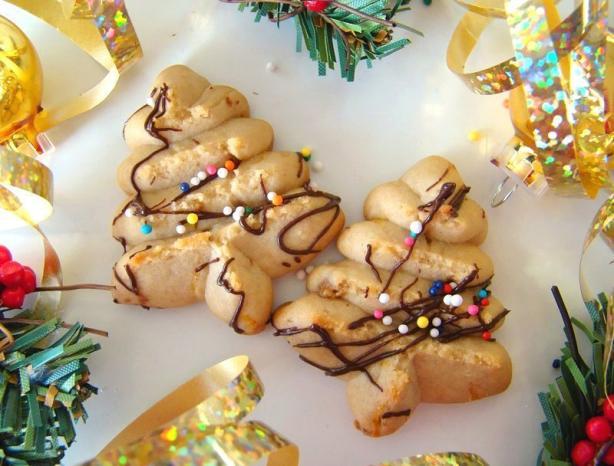 Orange Spritz Cookies