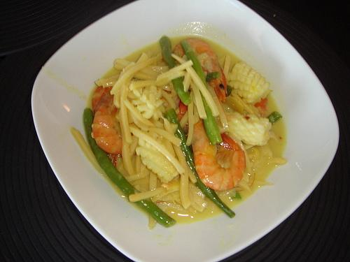 Mixed Seafood Curry With Bamboo Shoots