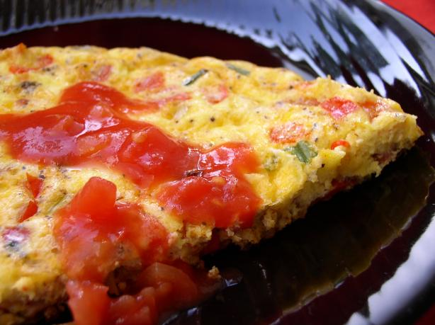 Oven Baked Western Frittata
