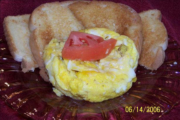 Scrambled Eggs in a Bowl