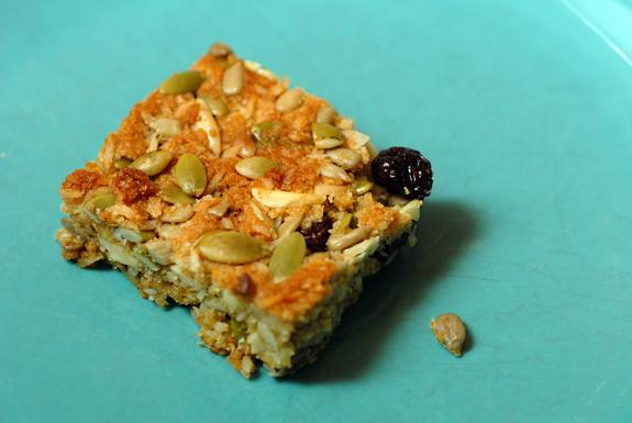 Gluten Free and Vegan Breakfast Bars
