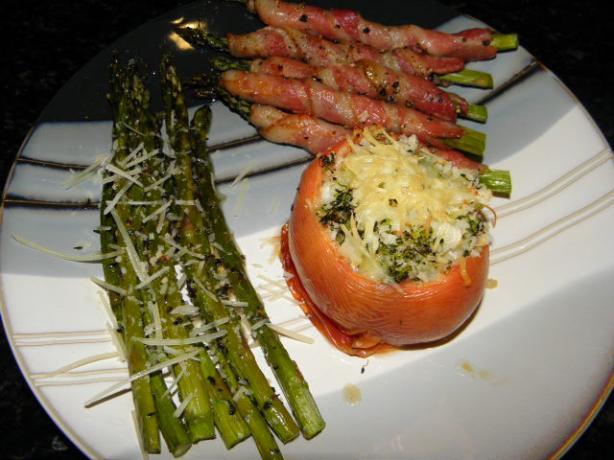 Broccoli Stuffed Tomatoes