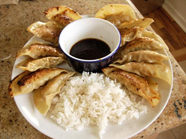 Gyoza ( Pot Stickers)